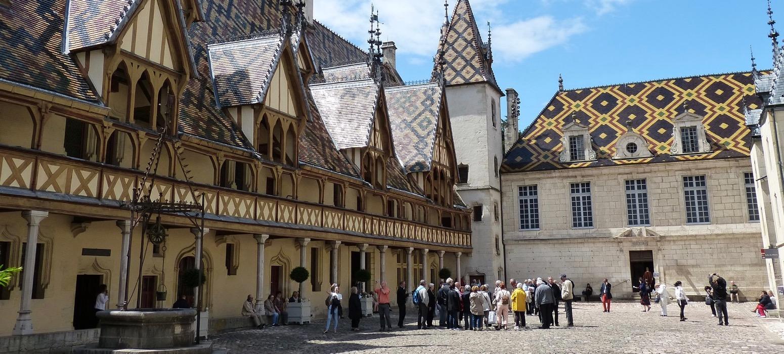 Visitez l'Hotel Dieu et les Hospices de Beaune lors de votre séminaire en Bourgogne