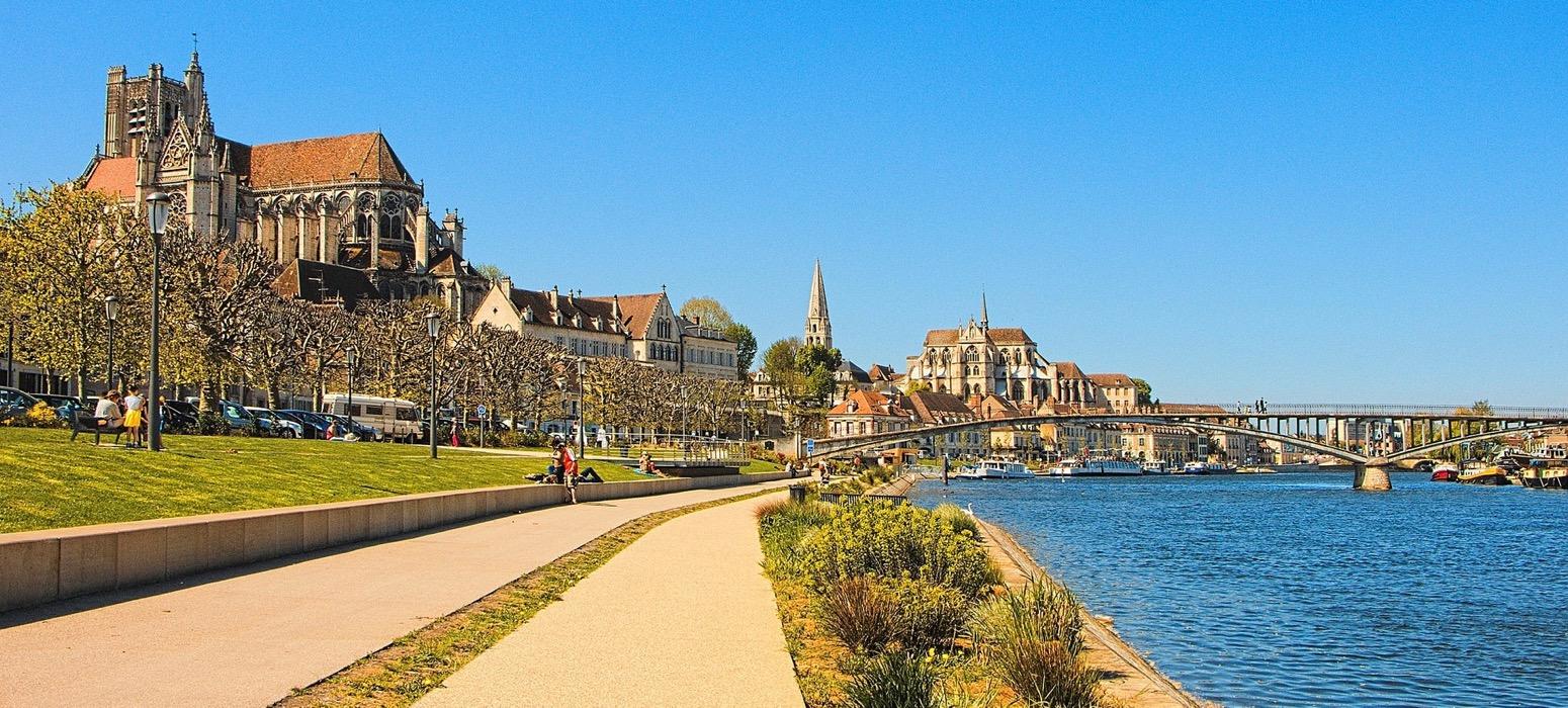 Visitez les villes de Dijon et Beaune lors de votre voyage CE en Bourgogne