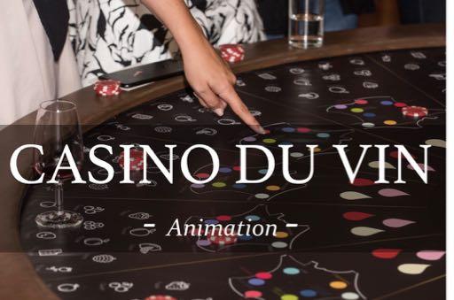 casino du vin ; animation ; jeu ; casino ; vin ; activité ; entreprise ; évènement ; animations soirées et cocktails