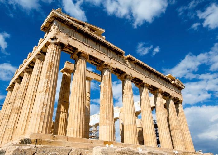 visite du temple d'Athènes Incentive en Grèce et découverte des vins et de la gastronomie locale