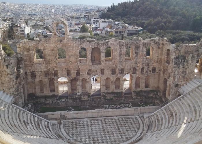 Visite théâtre antique Incentive en Grèce et découverte des vins et de la gastronomie locale