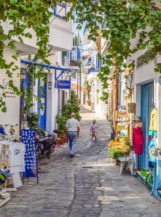 visite de villages authentiques Incentive en Grèce et découverte des vins et de la gastronomie locale