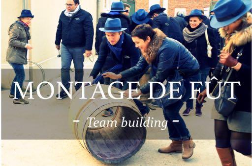 activité ; team building ; montage de fût ; Team Building oenologiques