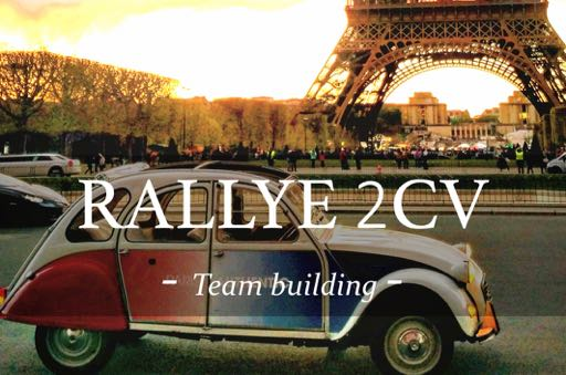 rallye 2cv ; team building ; activité ; Paris ; originale ; Team Building oenologiques