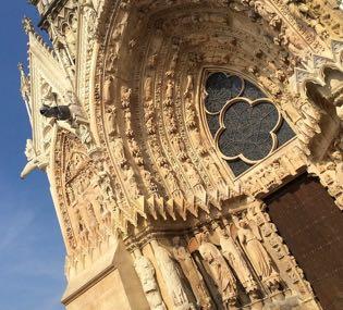Reims, champagne, cathédrale, wine tour, dégustation, visite