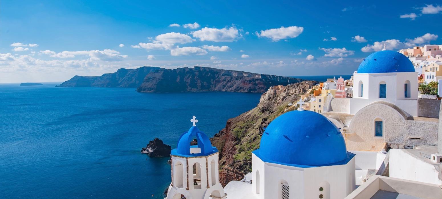 Visite village blancs toits bleus Incentive en Grèce et découverte des vins et de la gastronomie locale