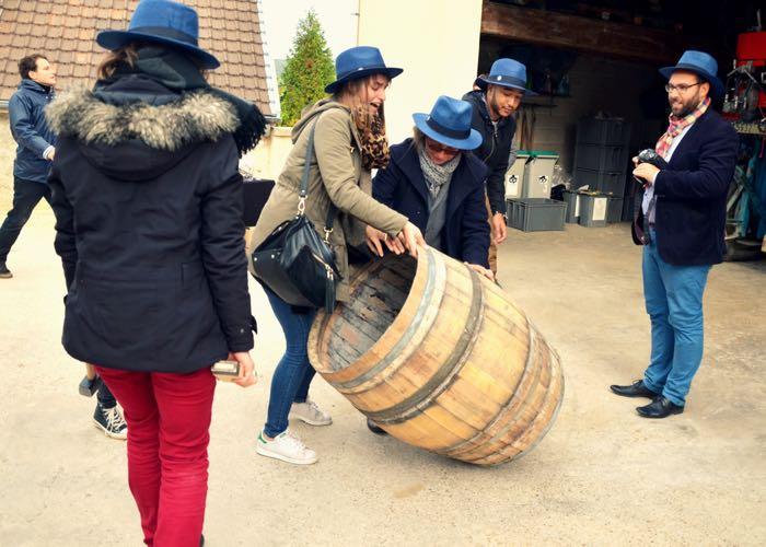 atelier ; montage de fût ; team building ; original ; activité ; vin