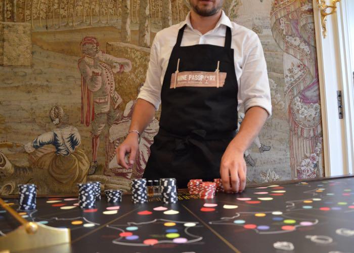 casino du vin, animation, jeu, casino, vin, activité, entreprise, évènement, jetons, wine passport, carte de France, vin