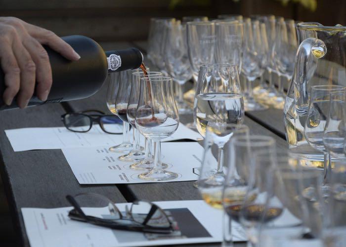 groupe, dégustation, cave, cellar, vin, robe, nez, bouche, arôme, présentation vin, sommelier, animation, évènement d'entreprise, dégustation vins, explication, porto