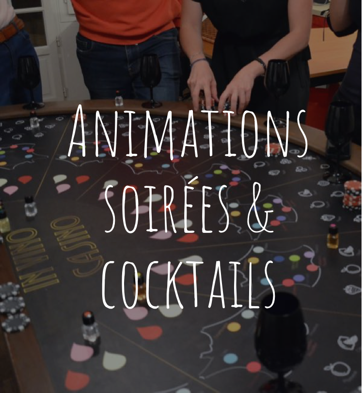 animations de soirées et cocktails par Wine Passport