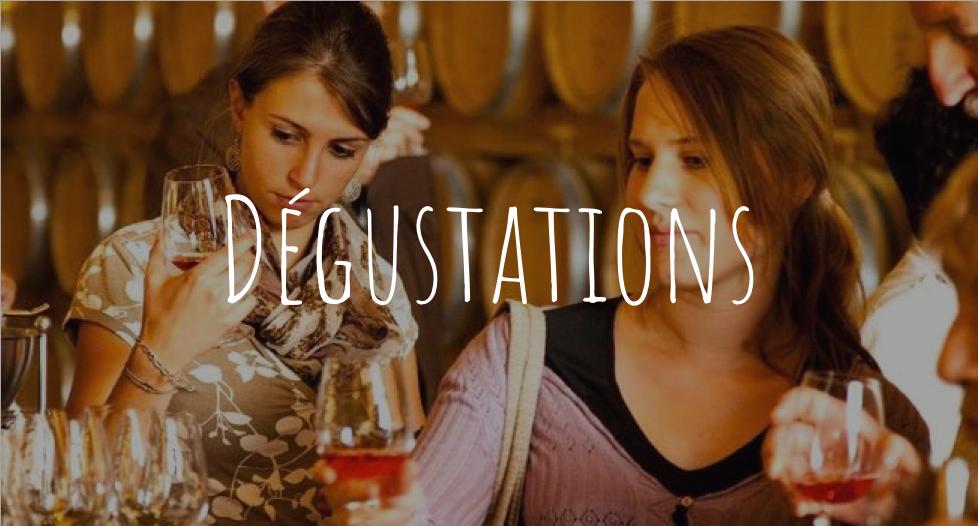 Les activités de dégustations de Wine Passport